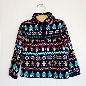 OshKosh B'Gosh Christmas Fleece Pullover 3T
